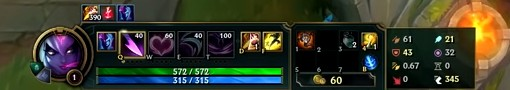 Challenger Players Settings And Hotkeys League Of Legends 0 15 Screenshot